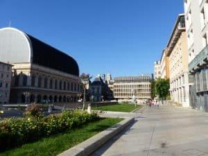 Des bâtiments dans Lyon